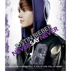 Justin Bieber: Never Say Never Blu-ray Cover