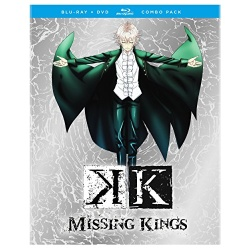 K: Missing Kings Blu-ray Cover