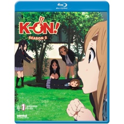 K-ON!: Season 2 - Collection 1 Blu-ray Cover