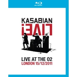 Kasabian Live! Live at the O2 Blu-ray Cover