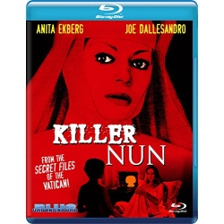 Killer Nun Blu-ray Cover