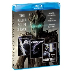 Killer Sci-Fi 3 Pack Blu-ray Cover
