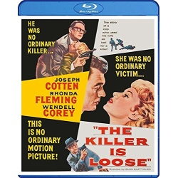 Killer is Loose Blu-ray Cover
