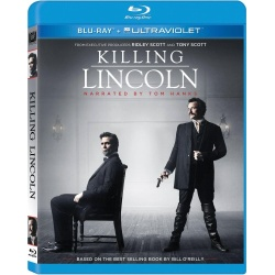 Killing Lincoln Blu-ray Cover