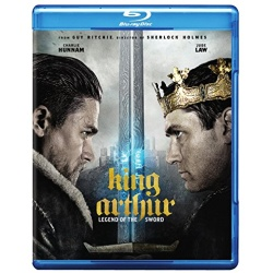 King Arthur: Legend of the Sword Blu-ray Cover