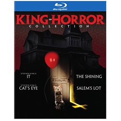 King of Horror Collection Blu-ray Cover