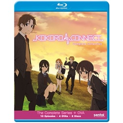 Kokoro Connect Blu-ray Cover