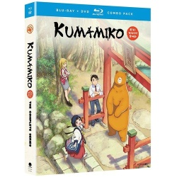 Kumamiko: The Complete Series Blu-ray Cover