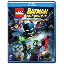LEGO Batman: The Movie - DC Super Heroes Unite Blu-ray Cover