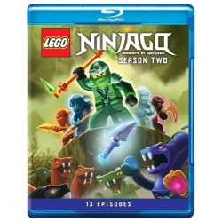 LEGO Ninjago: Masters Of Spinjitzu - Season Two Blu-ray Cover