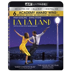 La La Land Blu-ray Cover