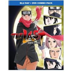 Last: Naruto the Movie Blu-ray Cover