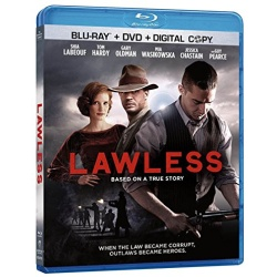 Lawless Blu-ray Cover
