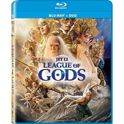 League of Gods Blu-ray Cover