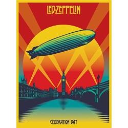 Led Zeppelin: Celebration Day Blu-ray Cover