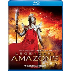 Legendary Amazons Blu-ray Cover