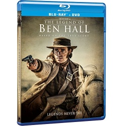 Legend of Ben Hall Blu-ray Cover