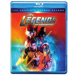 Legends of Tomorrow: The Complete 2nd Season Blu-ray Cover