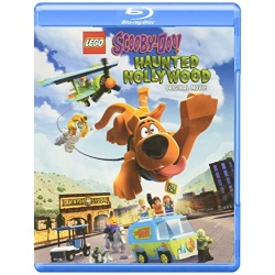 Lego Scooby-Doo!: Haunted Hollywood Blu-ray Cover