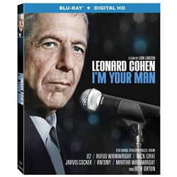 Leonard Cohen: I'm Your Man Blu-ray Cover