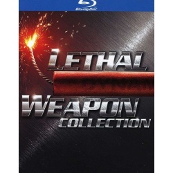 Lethal Weapon Collection Blu-ray Cover