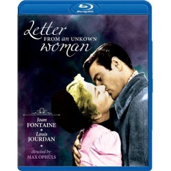 Letter from an Unknown Woman Blu-ray Cover