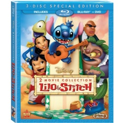 Lilo & Stitch / Lilo & Stitch 2: Stitch Has a Glitch Blu-ray Cover