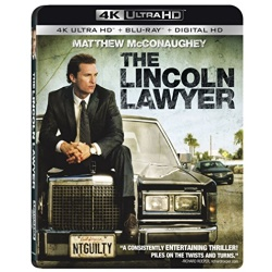 Lincoln Lawyer Blu-ray Cover