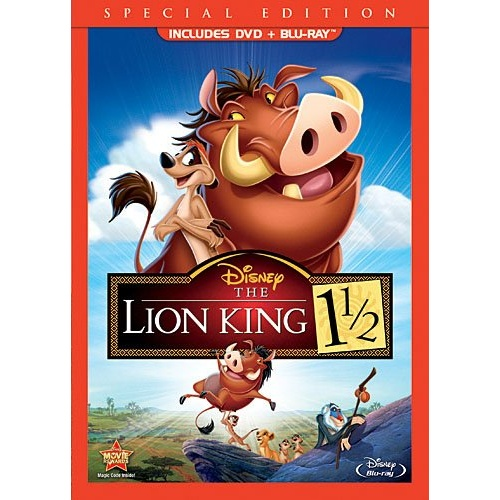 The Lion King 1 1/2 Blu-ray Disc Title Details