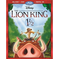 Lion King 1 1/2 Blu-ray Cover