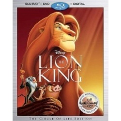 Lion King Blu-ray Cover