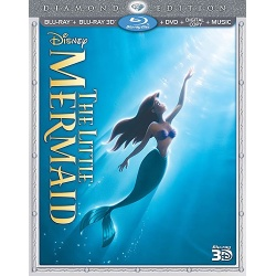 Little Mermaid Blu-ray Cover