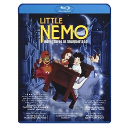 Little Nemo: Adventures in Slumberland Blu-ray Cover