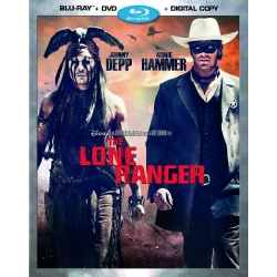 Lone Ranger Blu-ray Cover