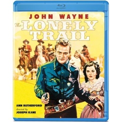 Lonely Trail Blu-ray Cover