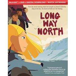 Long Way North Blu-ray Cover