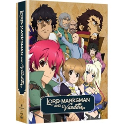 Lord Marksman and Vanadis: The Complete Series Blu-ray Cover
