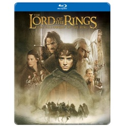 Lord of the Rings: The Fellowship of the Ring (Steelbook) Blu-ray Cover