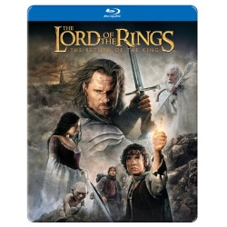Lord of the Rings: The Return of the King (Steelbook) Blu-ray Cover