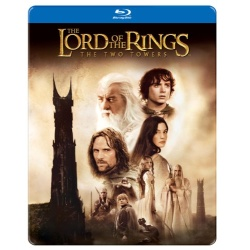 Lord of the Rings: The Two Towers (Steelbook) Blu-ray Cover
