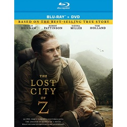 Lost City of Z Blu-ray Cover