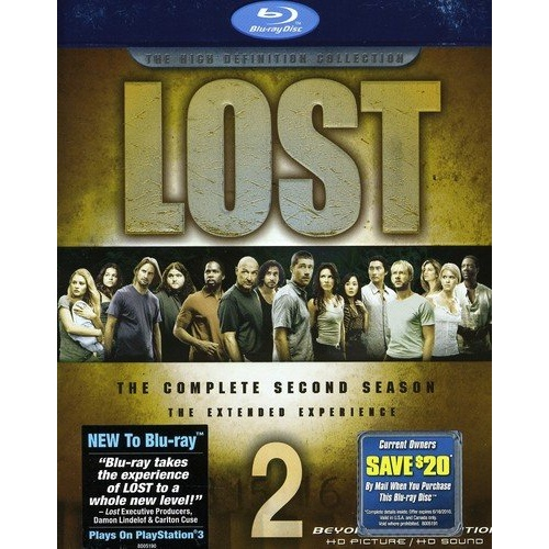Warriors The New Prophecy Set The Complete Second Series: Lost: The Complete Second Season Blu-ray Disc Title