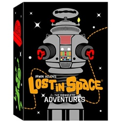 Lost in Space: The Complete Adventures Blu-ray Cover