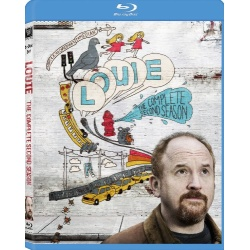 Louie: The Complete Second Season Blu-ray Cover