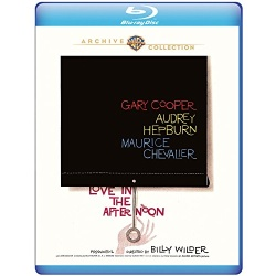 Love in the Afternoon Blu-ray Cover