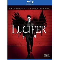 Lucifer: The Complete 2nd Season Blu-ray Cover