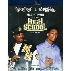 Mac & Devin Go to High School Blu-ray Cover