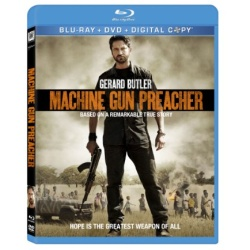 Machine Gun Preacher Blu-ray Cover