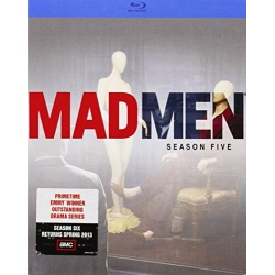 Mad Men: Season Five Blu-ray Cover