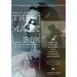 Magic Box: The Films of Shirely Clarke 1927-1986 Blu-ray Cover